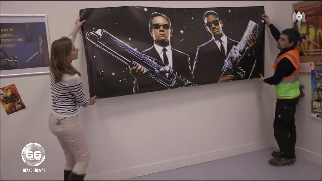 14. Capture de l'installation de l'affiche Men in black