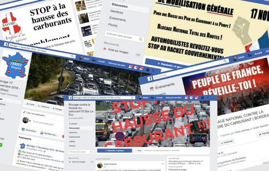 foto de Comment les Gilets jaunes occupent Facebook Par Tony Le Pennec Arrêt sur images