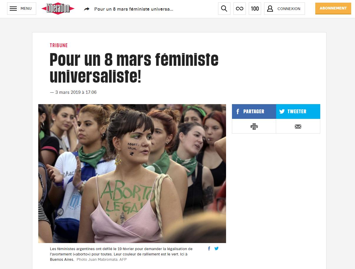 Anti féministe site de rencontre