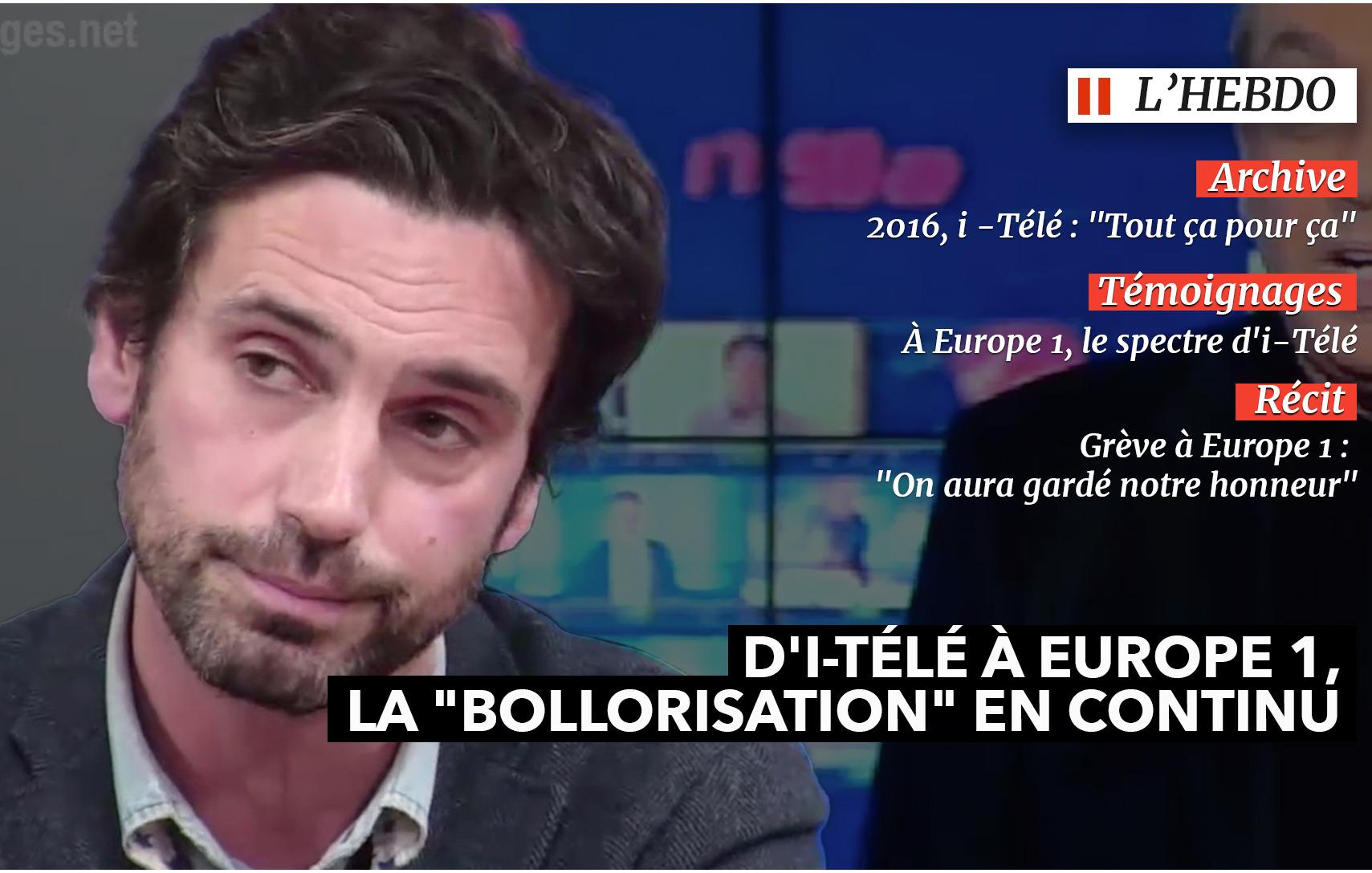 L'Hebdo #42. D'i-Télé à Europe 1, la