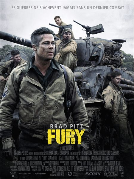 Affiche Fury - Sony