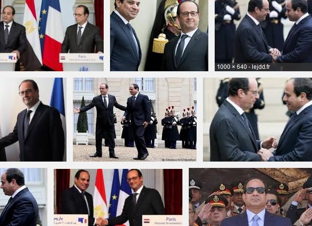 Al-Sissi Hollande