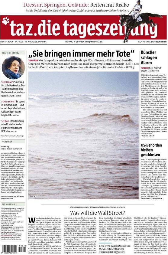 Allemagne Lampedusa