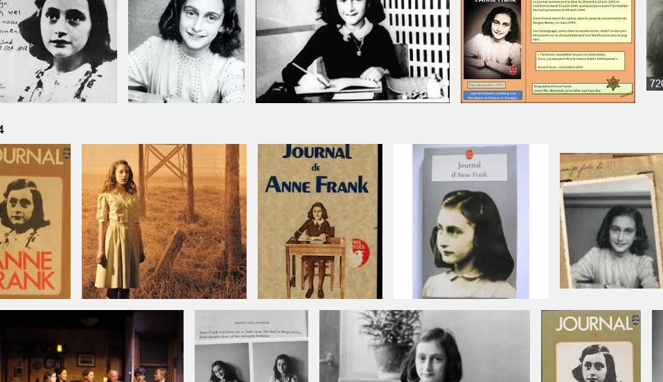 Anne Frank, journal