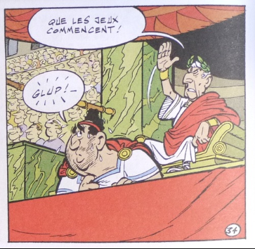 Astérix pain et jeux
