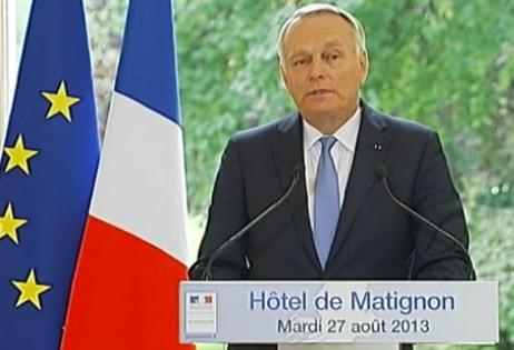 Ayrault, conférence de presse