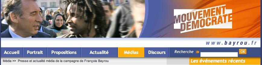 Bandeau Bayrou