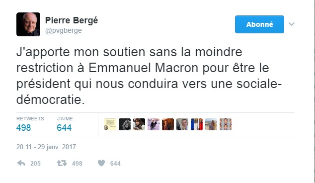 Bergé Macron