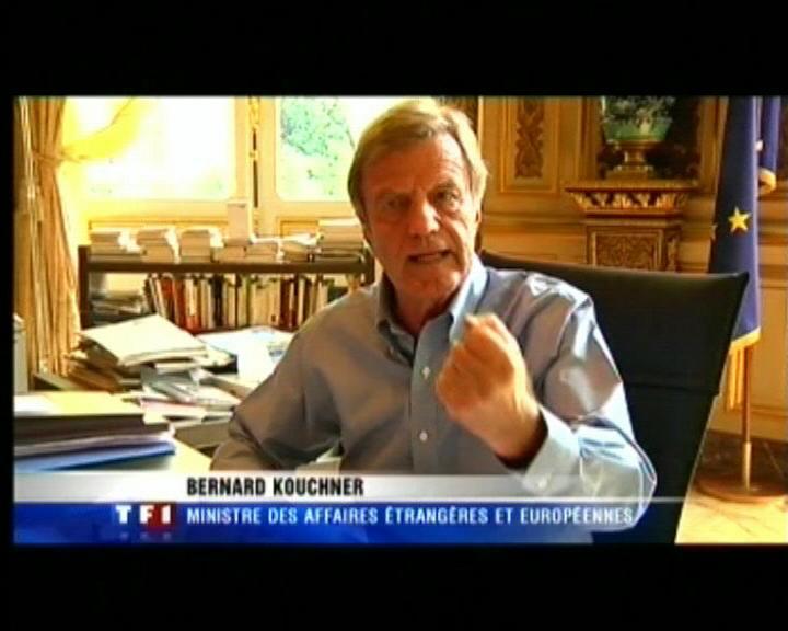 Bernard Kouchner - TF1 - 09/08/2009