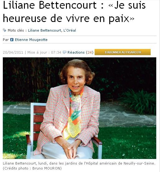 Bettencourt Figaro