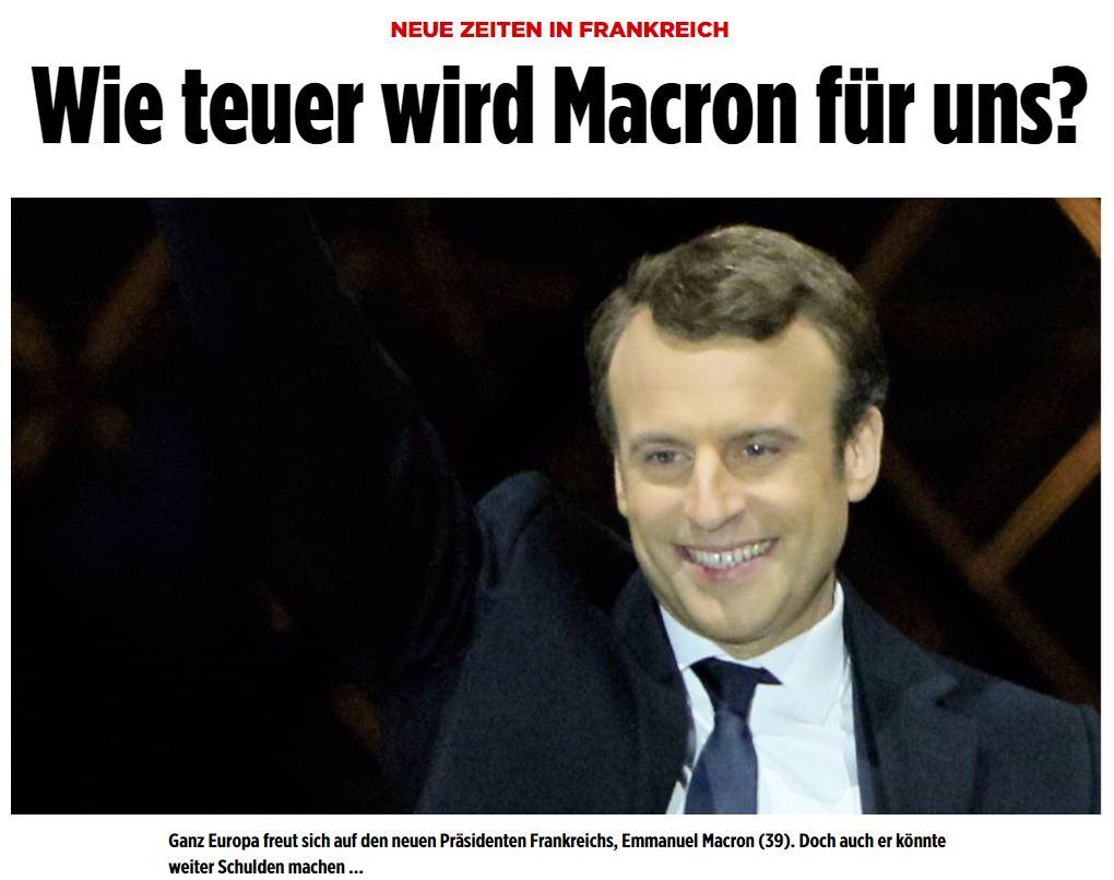 Bild Macron