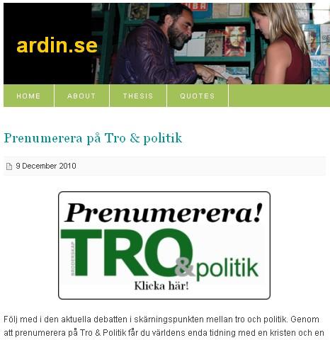 Blog d'Ardin