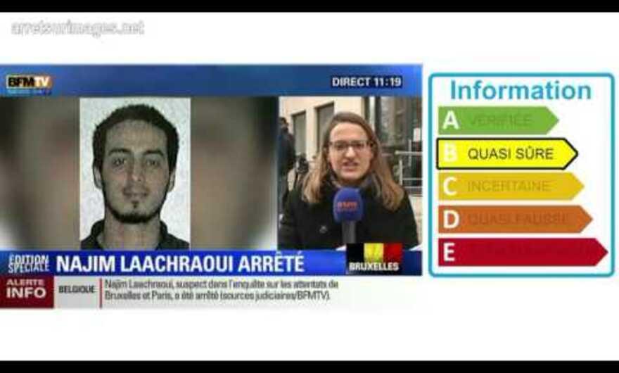 Bruxelles : BFMTV se trompe de suspect