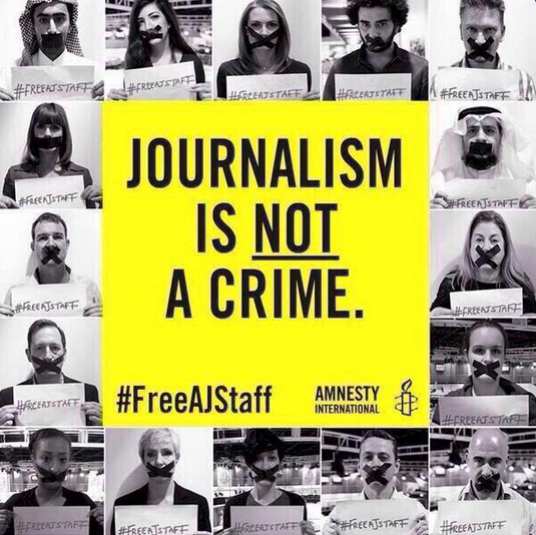 Campagne Amnesty - Al-Jazeera - 01
