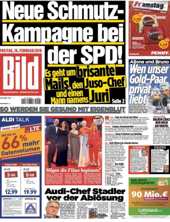 """""""Campagne de dénigrement au SPD!"""""""