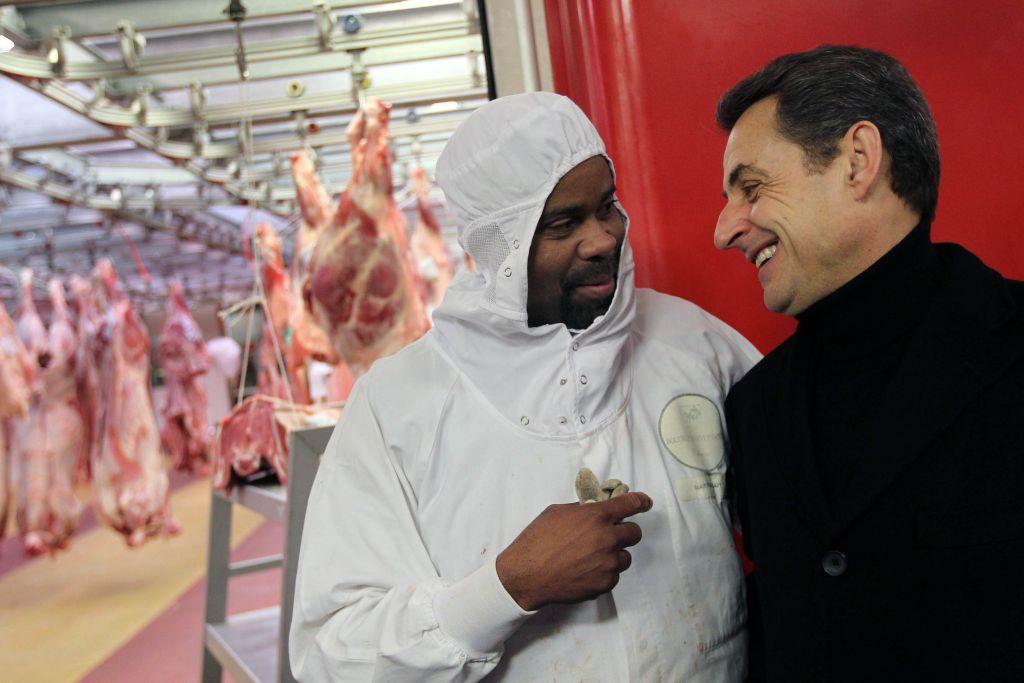 Campagne Sarkozy boucher