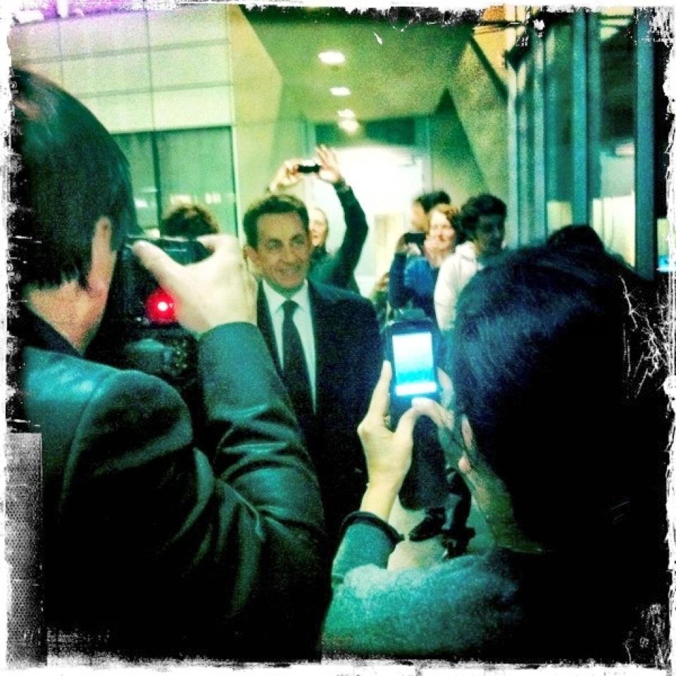 Campagne Sarkozy France télévisions