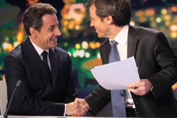Campagne Sarkozy Pujadas