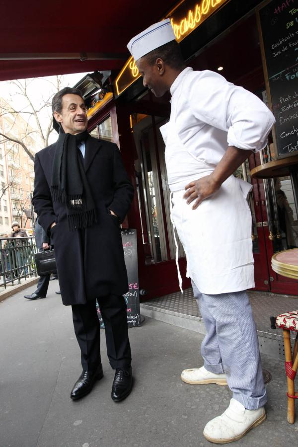 Campagne Sarkozy restaurateur averti