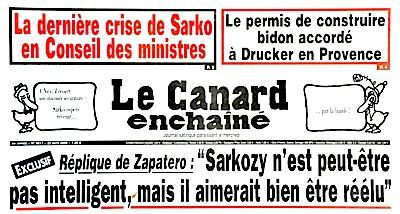 Canard, Drucker