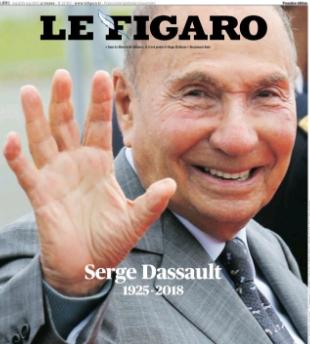 Dassault Figaro mort