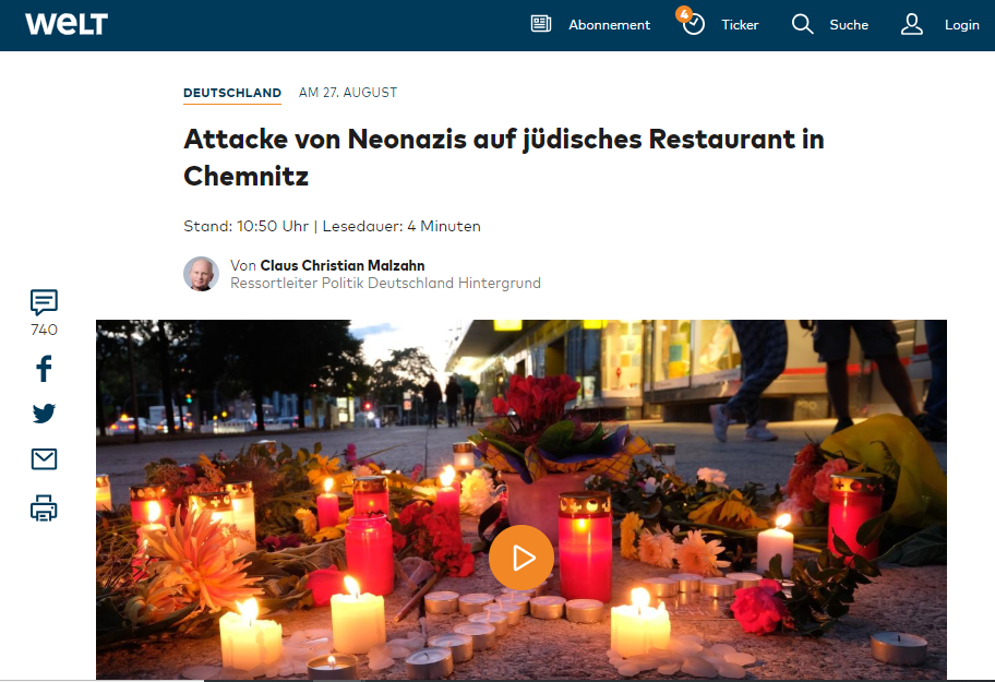 Die Welt Chemnitz