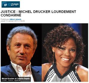 Drucker condamné