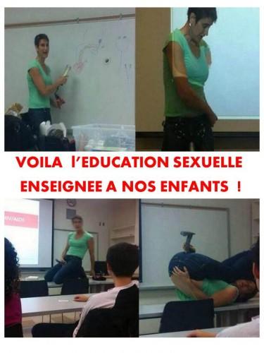 Education sexuelle hoax