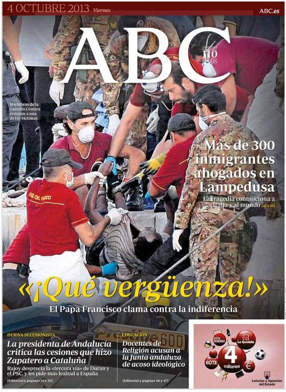 Espagne Lampedusa