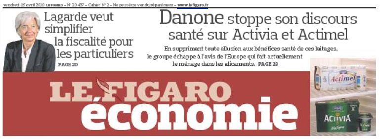 Figaro, Danone