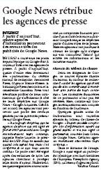 Figaro, Google News