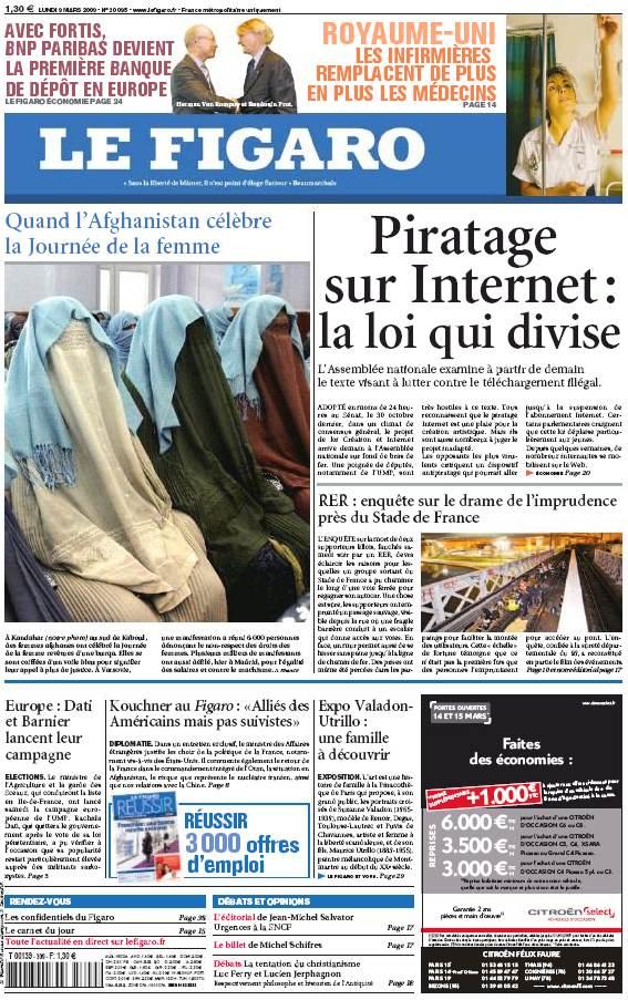 Figaro, journe%u0301e de la Femme