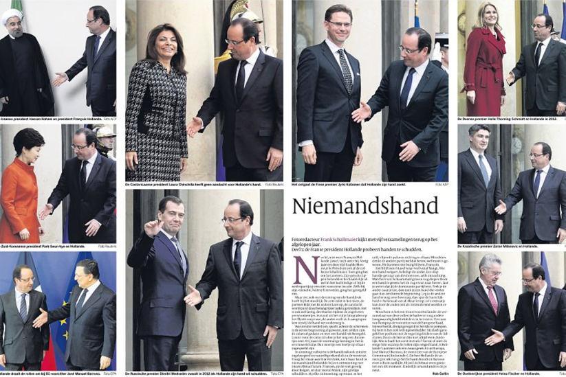 François Hollande Volkskrant