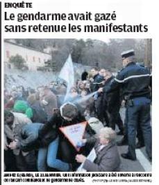 Gendarme, Anduze
