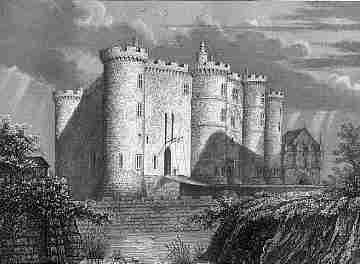 Gravure : la Bastille