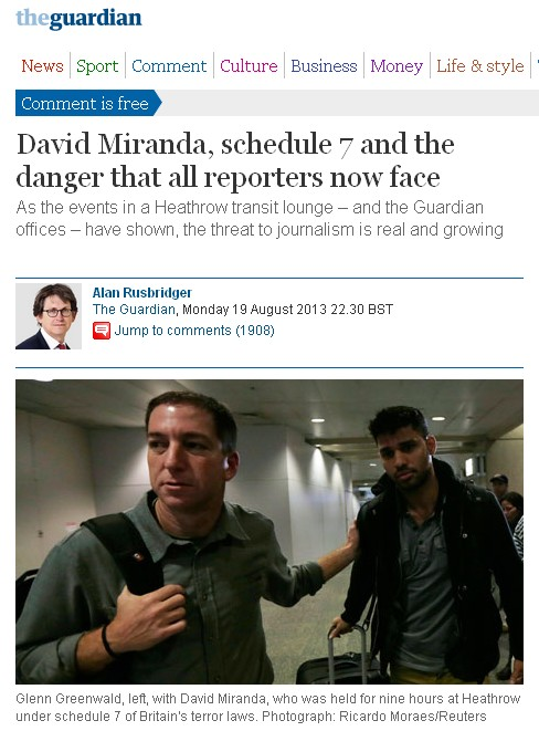 greenwald The guardian