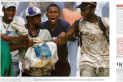 Haïti pillards Libé