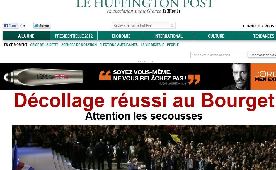 Huffington Hollande