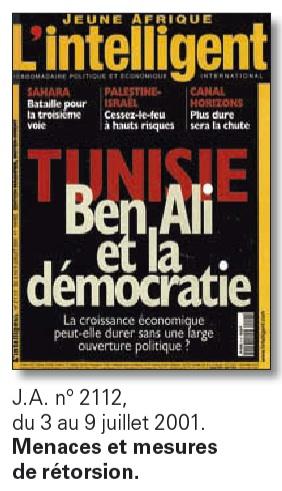 Jeune Afrique juillet 2001