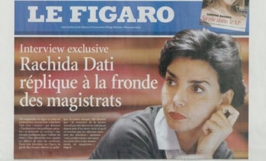 Le Figaro - 19/11/08- Dati sans bague