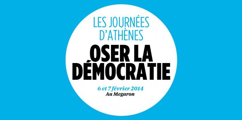 Le logo des journées d'Athènes du Nouvel Obs