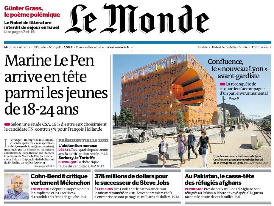 Le Monde - 10/04/12
