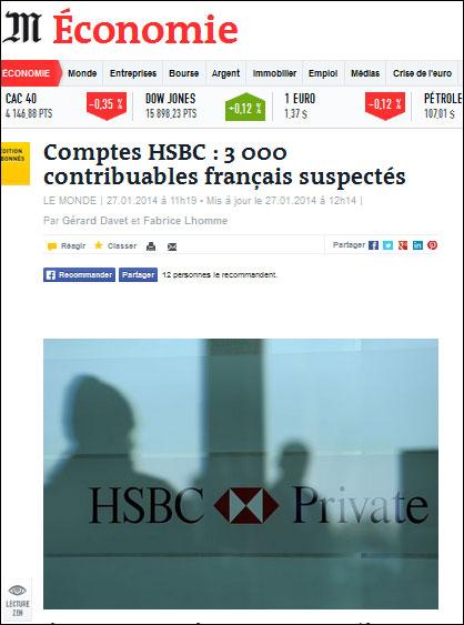 Le Monde HSBC