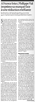 Le Monde, Val