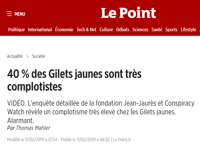 Le Point Conspi