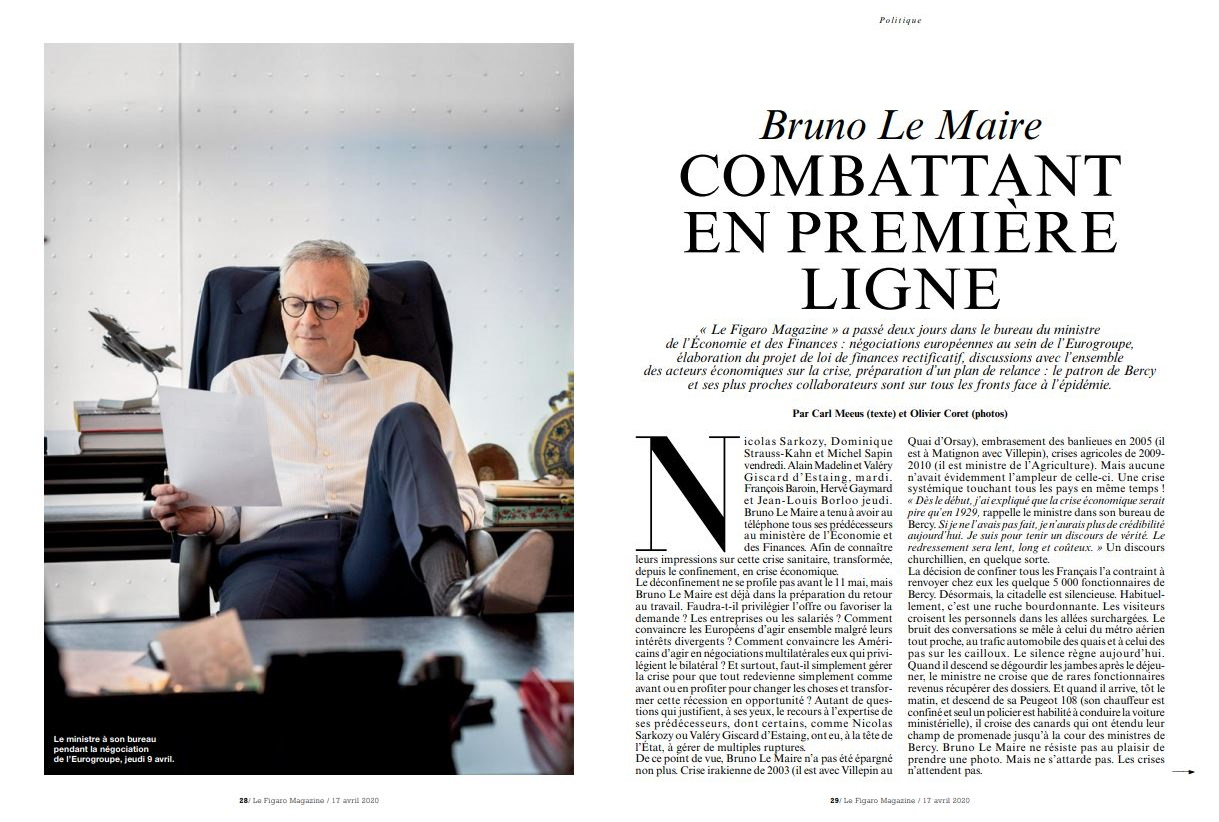 La dialectique présidentielle reprise par le figaro magazine