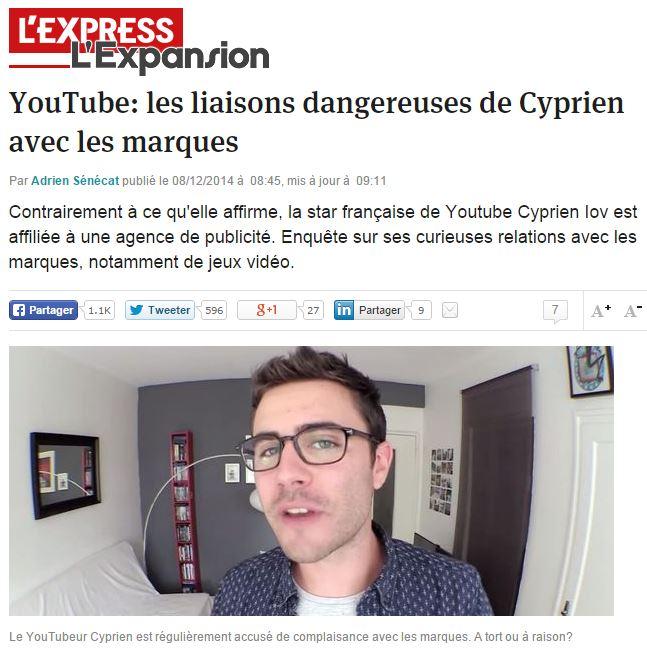 LExpress Cyprien