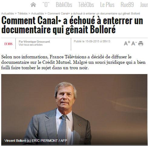 LObs Bolloré