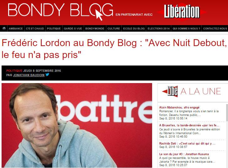 Lordon Bondy Blog