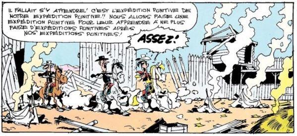 Lucky Luke XXe de cavalerie